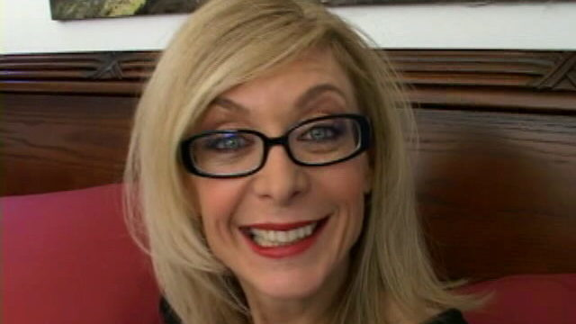 Sweety Blonde Granny In Glasses Nina Hartley Speaking Grimy Within The Bed Room