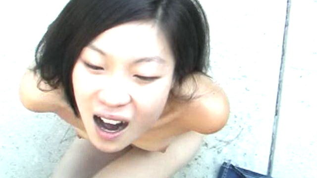 Trashy Asian Newbie Honey Leandra Lee Fucking A Big Bishop Together With Her Splazoingas Outdoor