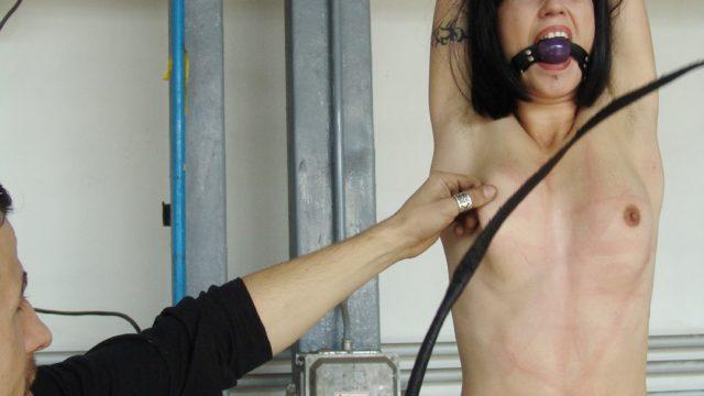 Alexa Suffers Whipping & Nip Torture For Smoking