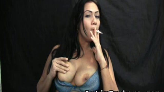Big-titted Mother I'd Like To Bang Smoking Fetish Fashion