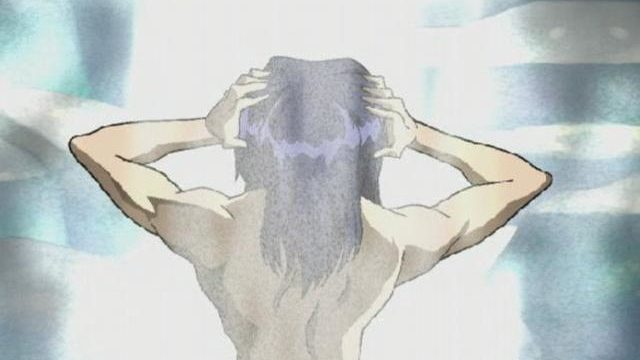 Captivating Dark-haired Anime Porn Demonstrating His Magnificent Assets Within The Water