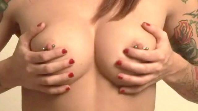 Sexy Tattooed Teen Slut Ache Enjoying Along With Her Spherical Pierced Jugs