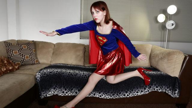 Nickey Huntsman As Supergirl: Kryptonite Sole Process
