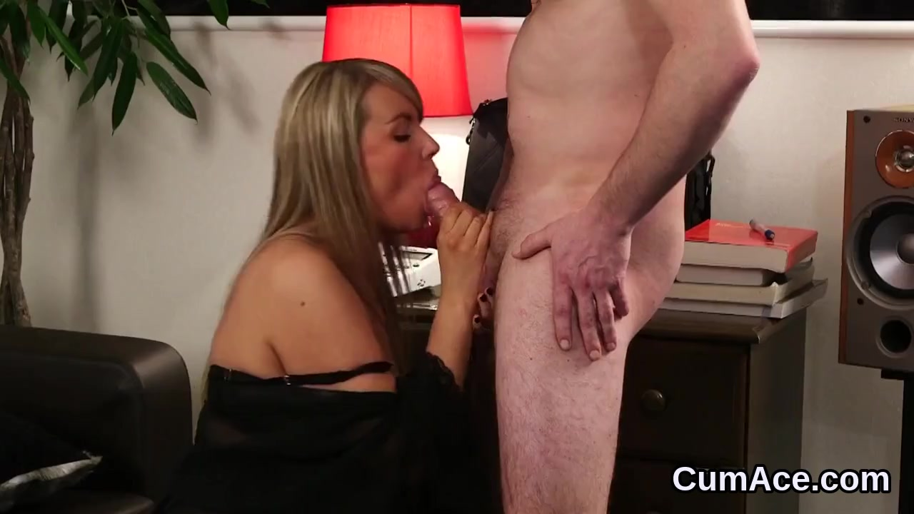 Nasty Fashion Will Get Man Juice Shot On Her Face Gobbling All Of The Cum