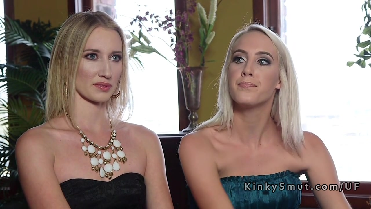 2 Sizzling Blondes Tough Assfuck Boinked