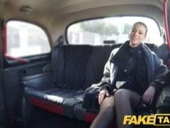 Faux Cab Czech Dame Hankers A Rock-hard Pink Cigar