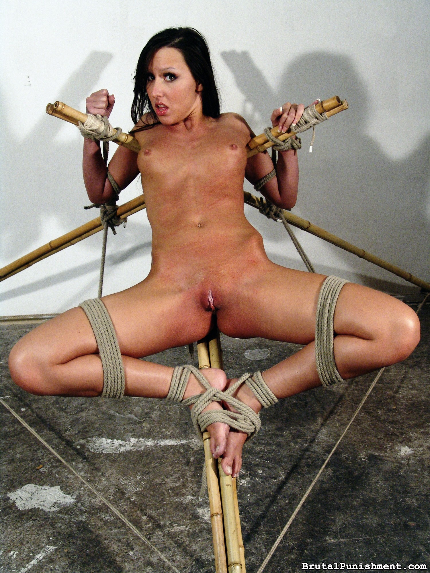 Nasty Agony Cockslut Nicole Suffers Some Other Restrain Bondage Consultation