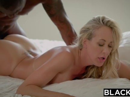 Blacked Brandi Enjoy´s Very First Massive Dark-hued Pink Cigar