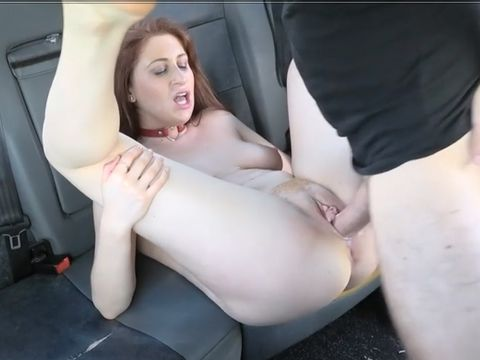 Chesty Ginger-haired Euro Dame Will Get Screwed In A Cab