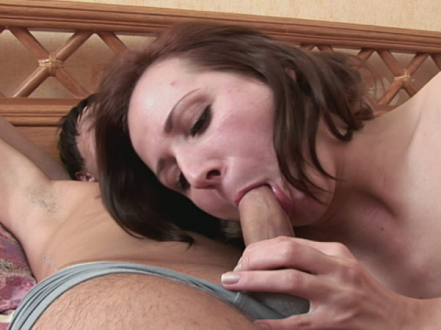 Slim Black-haired Teenager Babe Throating A Rock Hard Bone With Fervor Within The Bed Room
