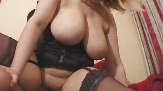 English Cougar Romps
