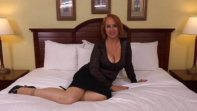 Baggy Breast Cougar Internal Ejaculation