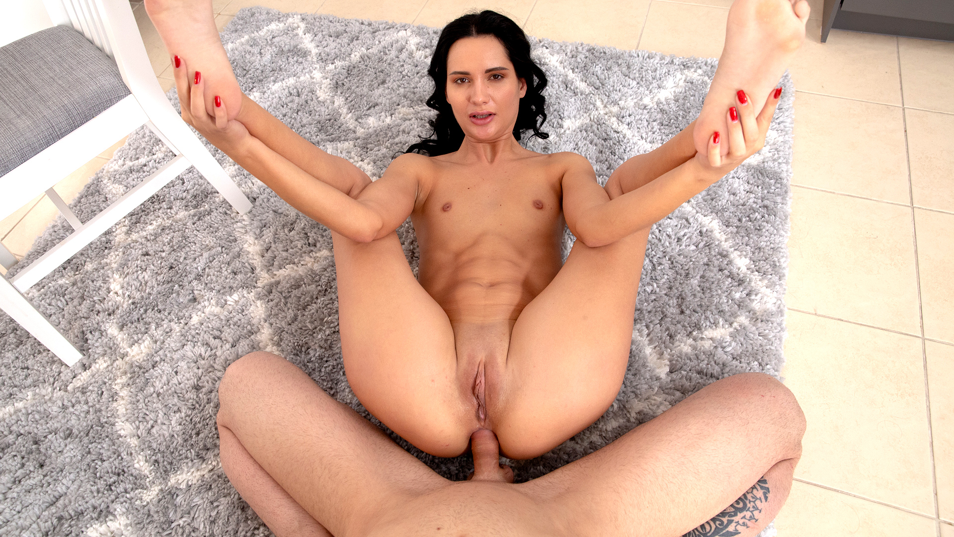 Nubile Dark Haired First-ever Ass-fuck Lovemaking