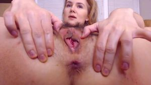 Wooly Puss And Widely Opened Backdoor Getting Opened Up