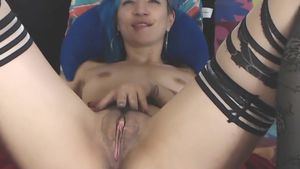Tatted Inexperienced Performs On Digital Camera